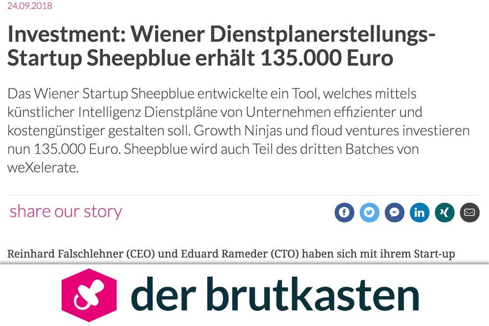 Presse Clipping Brutkasten 2018-09
