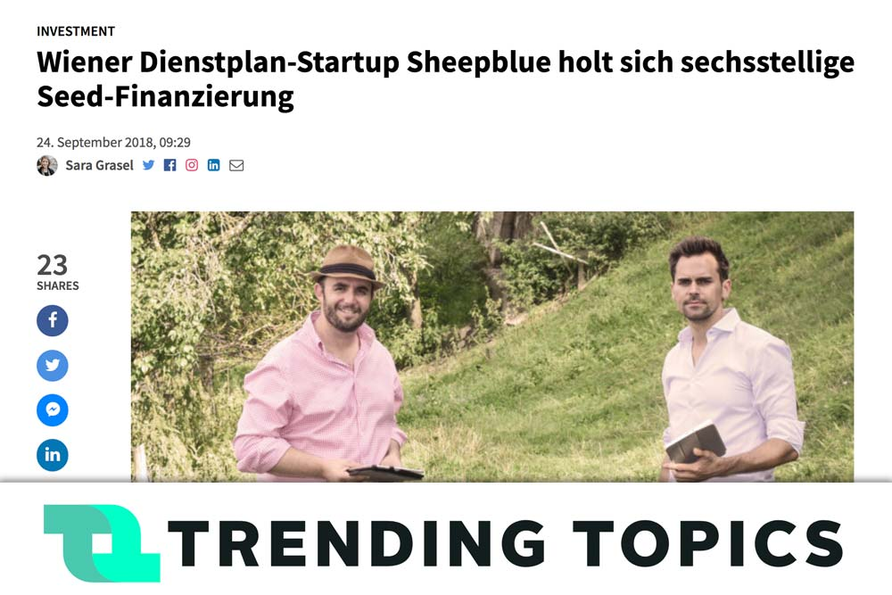 Presse Clipping Trending Topics 2018-09